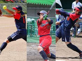 藤嶋、安井、中村の3選手が2部リーグ優秀選手賞を受賞しました!
